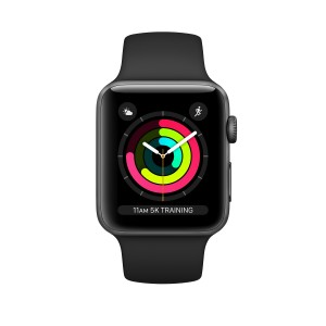 Apple Watch S3 2018 GPS 42mm Caixa alumini gris espacial Sport Reacondicionat
