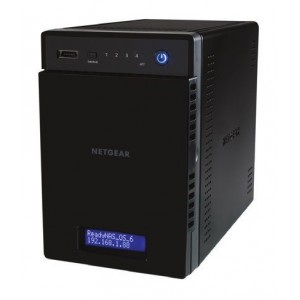 Netgear ReadyNAS Home RN21400-100NES - sense disc dur, 4 badies