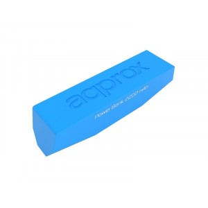 Approx Power Bank 2200 mah Blau