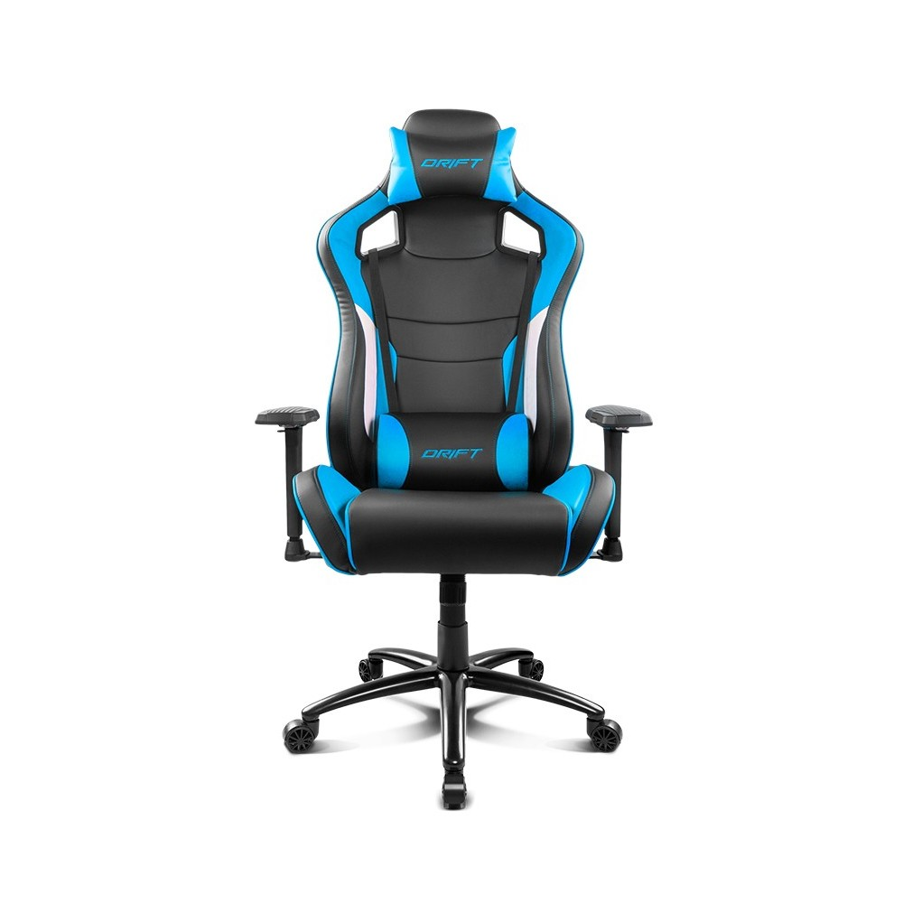 Drift DR400BL Negre Blau Cadira Gaming Reacondicionat