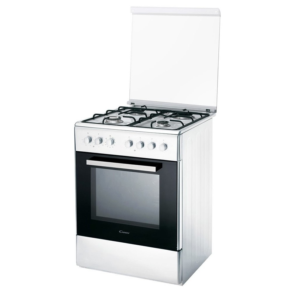 Candy CCG6503PW 60CM 4 Zones Blanc Forn a gas