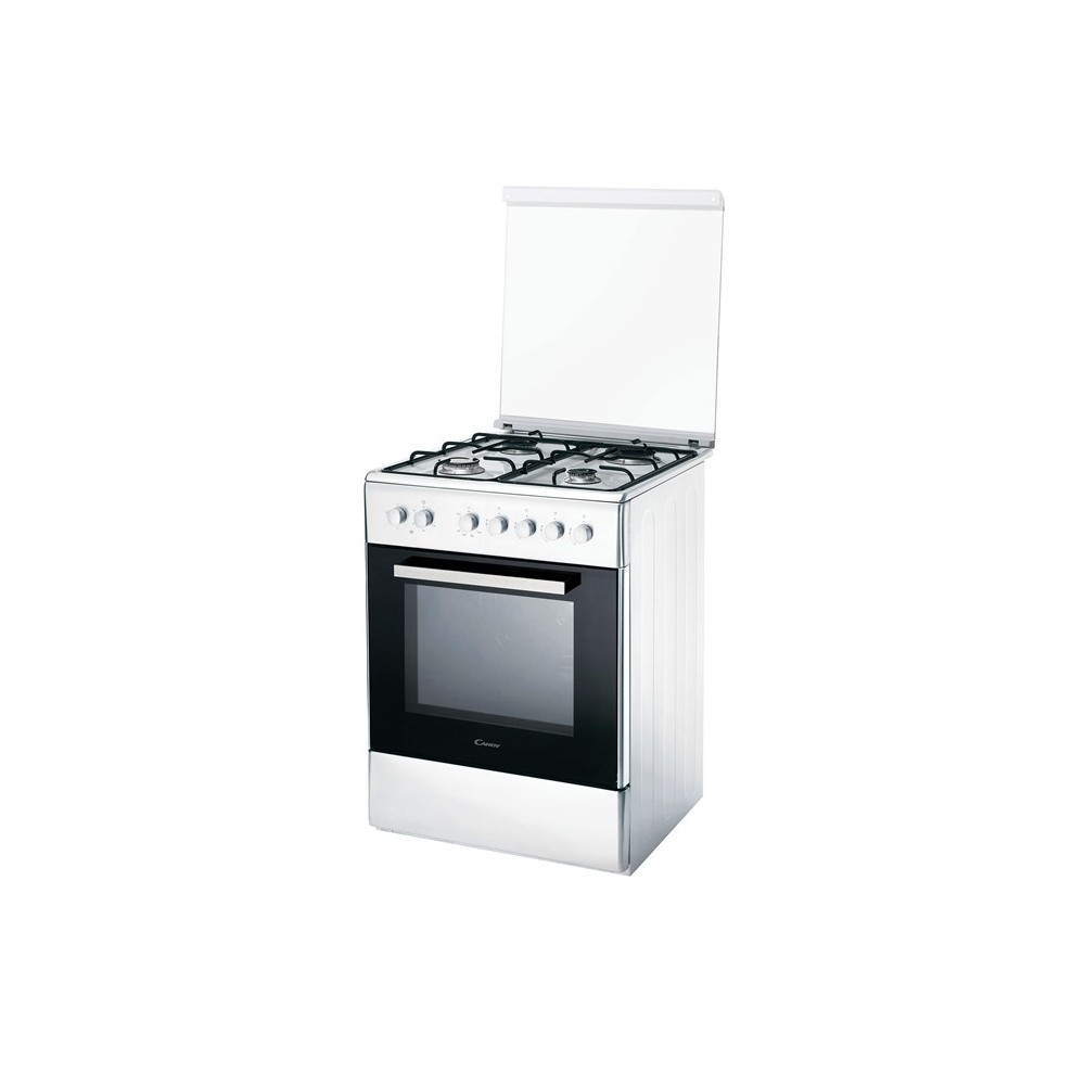 Candy CCG6102SW 65cm 44L A 4 Zones Blanc Forn a gas