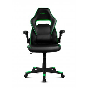 Drift DR75BG Negre-Verd Cadira Gaming Reacondicionat