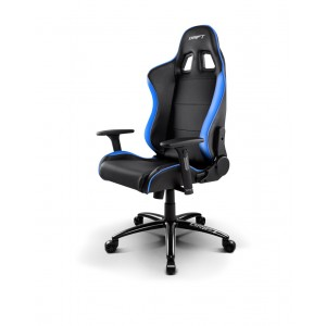 Drift DR200BL Negre   Blau Cadira Gaming Reacondicionat
