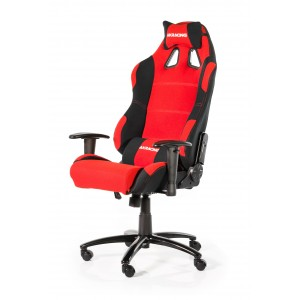 AKRacing AK-7018 Negra   Roja Cadira Gaming Reacondicionat