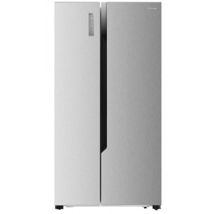 Hisense RS670N4HC2 1,78m A++ NoFrost Inox Side by Side Grau B Reacondicionat