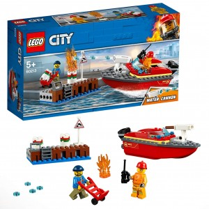 LEGO City Fire - Llamas al...