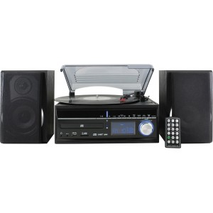 Soundmaster MCD1700- Microcadena (Negre, 20W, AM, FM, Digital, plasma, MMC, SD) Reacondicionat