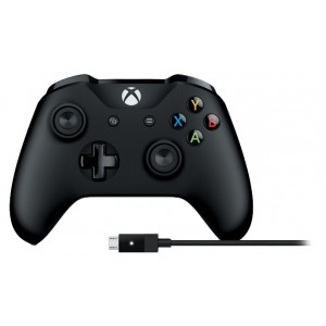 Microsoft Xbox One Controller + Cable per a PC Reacondicionat