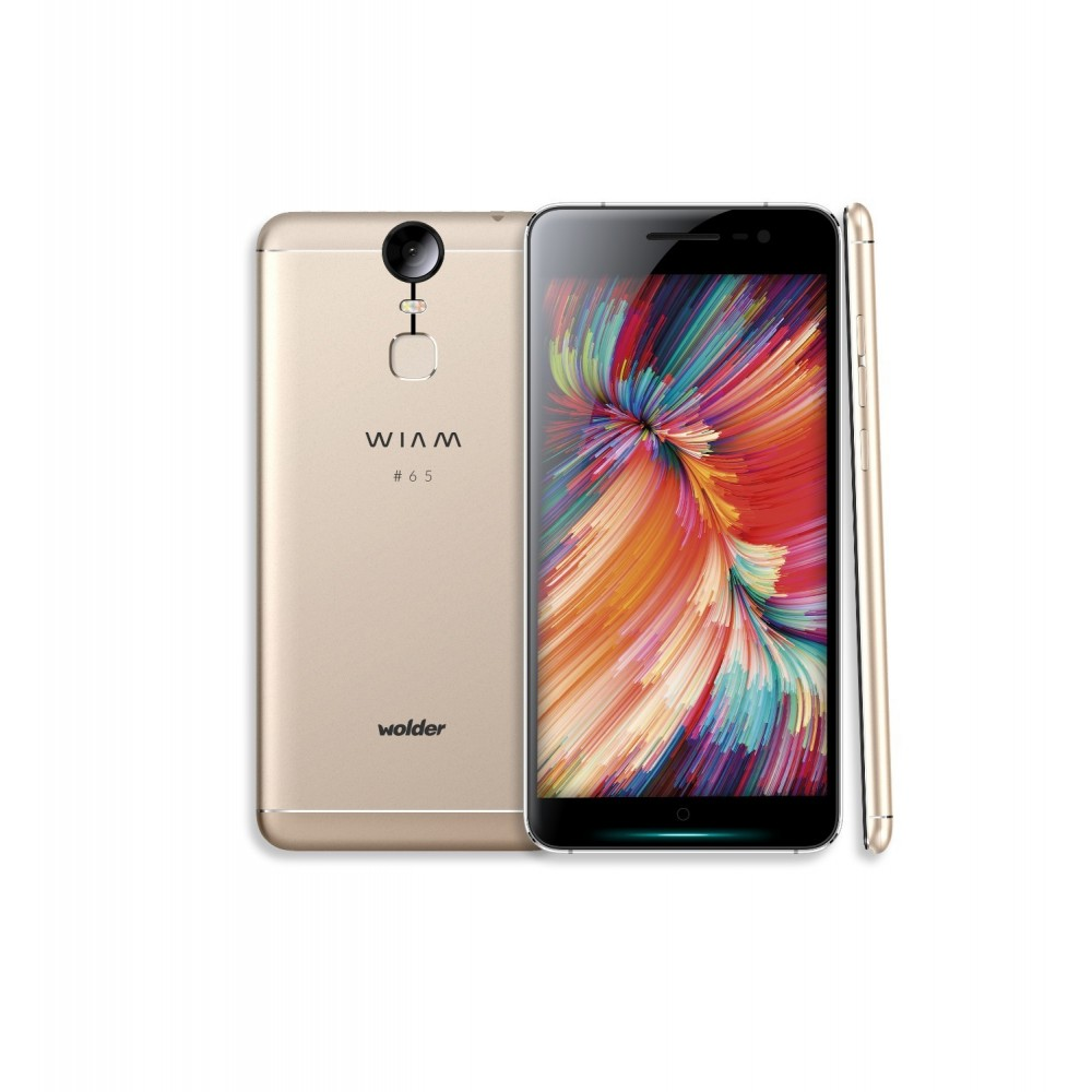 Wolder WIAM 65  5 4G Gold. Octa-Core/3GB/32GB/21MP/5.5 FHD