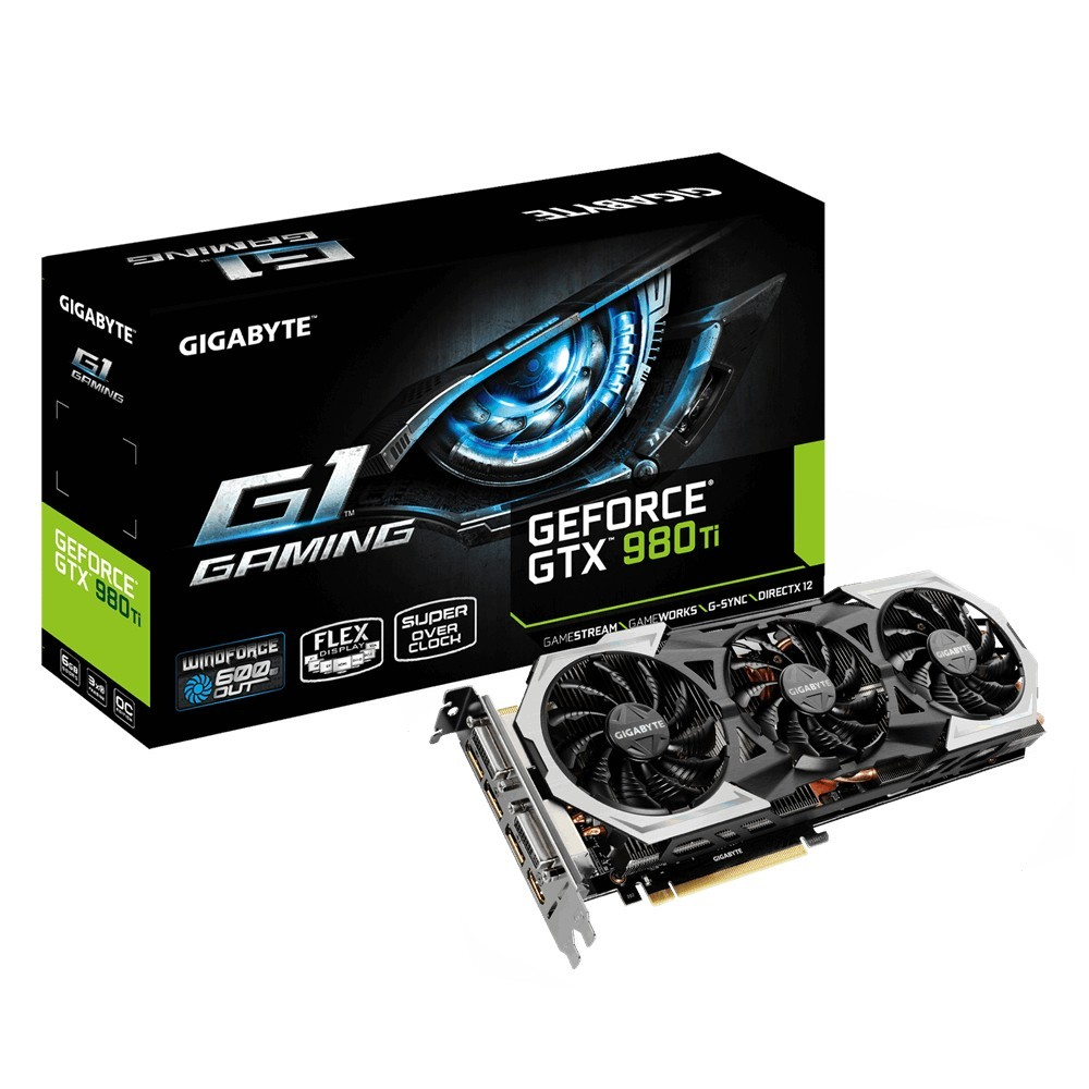 Gigabyte VGA NVIDIA GTX 980Ti Gaming 6GB DDR5 Reacondicionat