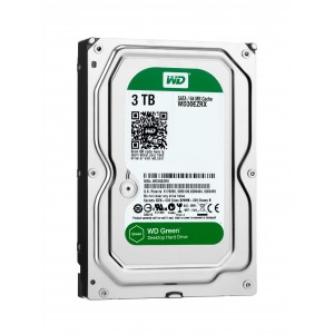 Disc dur 3TB 3,5 SATA 6Gb s 64MB WD Green Reacondicionat