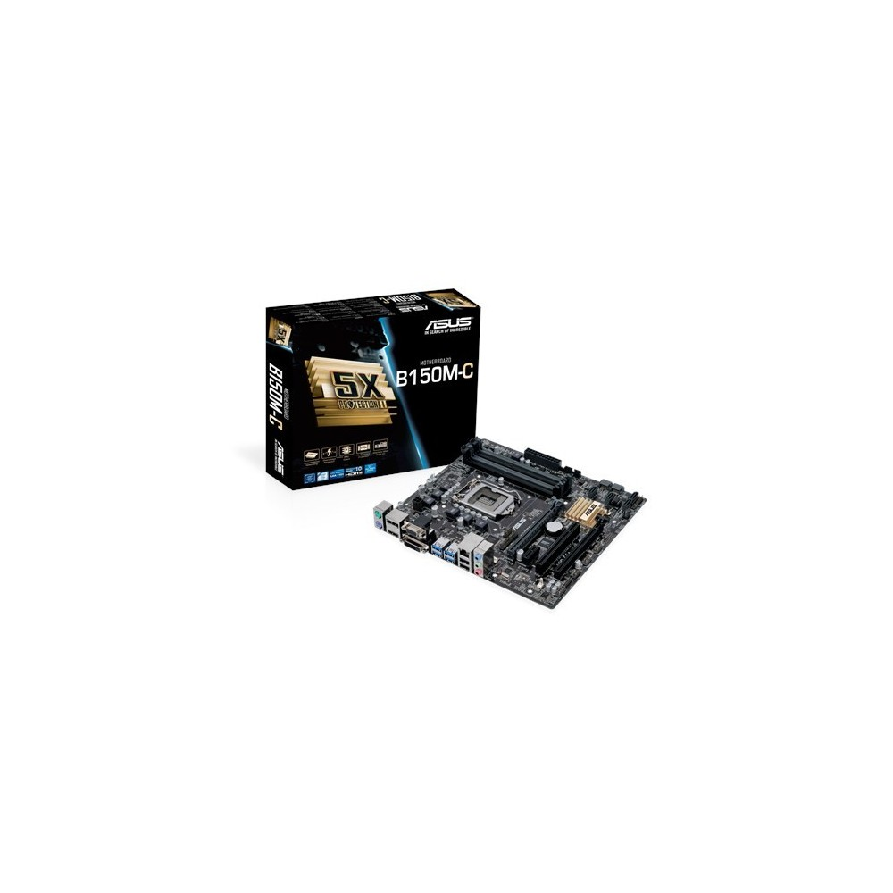 PLACA ASUS B150M-C. INTEL. 64 GB Reacondicionat