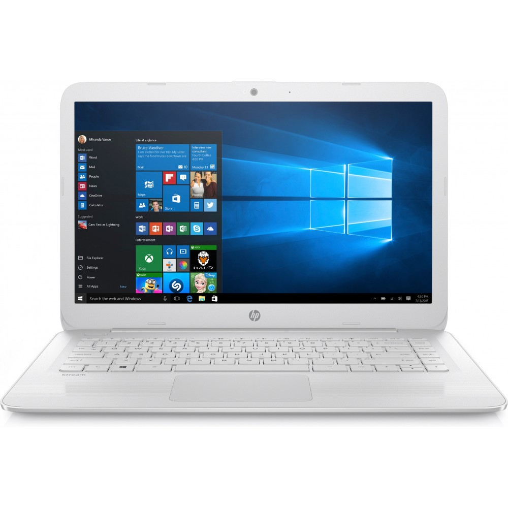 Portátil HP Stream 14-ax003ns N3060 4GB 32GB SSD 14.0  Reacondicionat