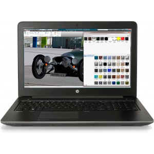 Portàtil HP ZBook 15 G4 i7-7700HQ   8GB   256GB SSD   15.6   M 1200Reacondicionat