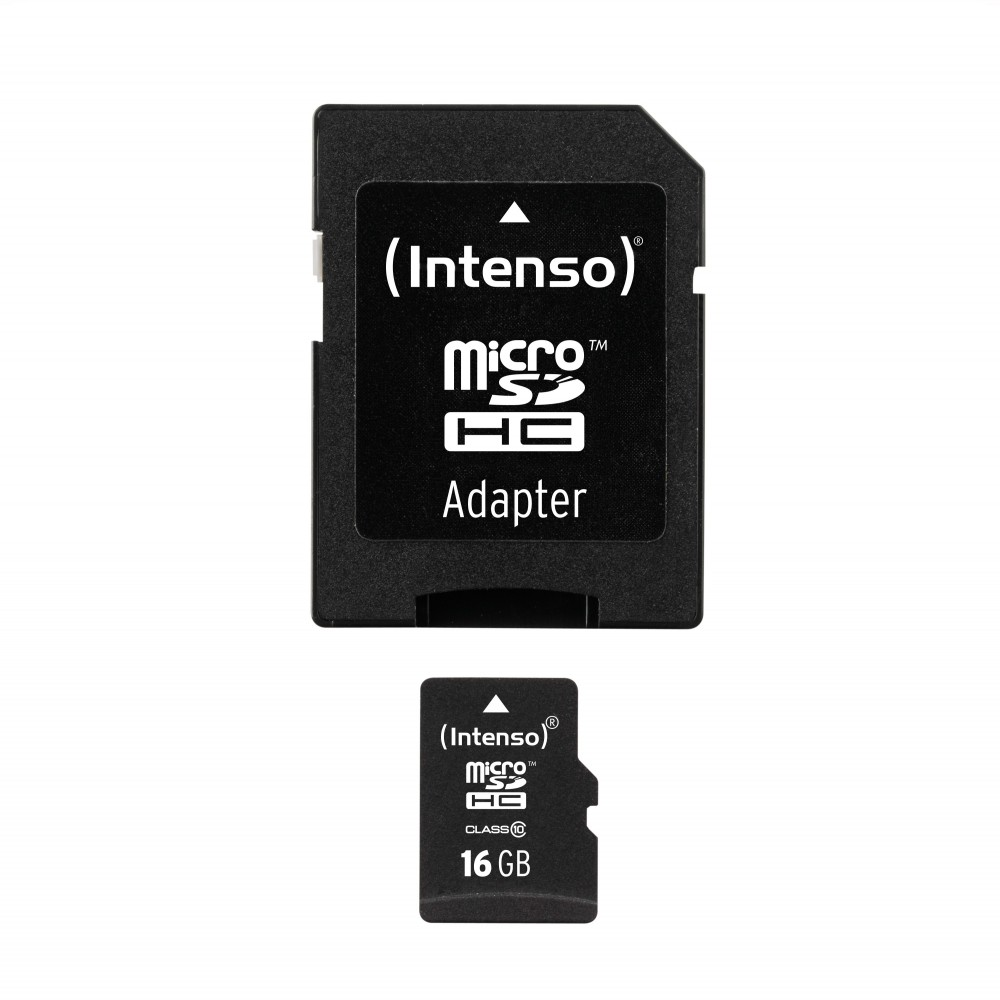 Intens Micro SD Card Class 10 16 GB